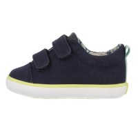 Gioseppo Kite Navy Blue Canvas Shoes