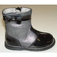 Lelli Kelly Cammie LK5652 Black Patent Boots