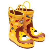 Chipmunks Leon Yellow Wellingtons