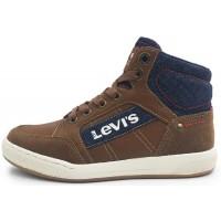 Levis Madison Hi Zip Tan Boots
