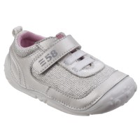 Hush Puppies Livvy Silver Pre-walkers