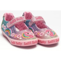Lelli Kelly Unicorn Rainbow Canvas Shoes