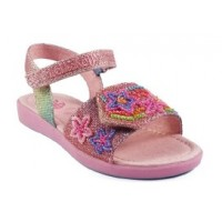 Lelli Kelly Rainbow Stars Glitter Sandals