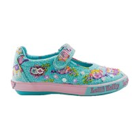Lelli Kelly Owlie Blue Canvas Shoes
