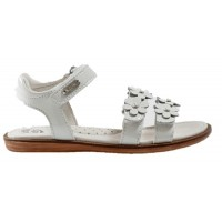 Lelli Kelly Alia White Patent Sandals