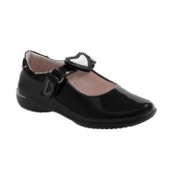 Lelli Kelly Colourissima LK8400 Black Patent School Shoes