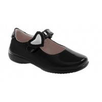 Lelli Kelly Colourissima LK8500 Black Patent School Shoes