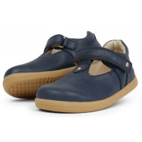 Bobux I-walk Louise Navy T-bar Shoes