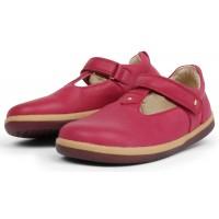 Bobux Kid+ Louise Dark Pink T-bar Shoes