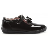 Lelli Kelly Maya T-bar LK8266 Black Patent School Shoes