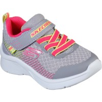Skechers Microspec Grey Trainers