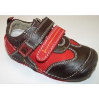 Hush Puppies Monkey Red Pre-walkers