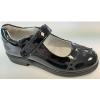 Lelli Kelly Dara LK8274 Black Patent School Shoes