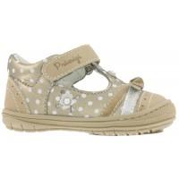 Primigi  PBD7067 Gold T-bar Shoes