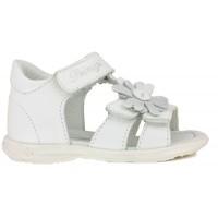 Primigi PBT7050 White T-bar Sandals