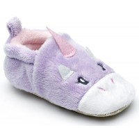 Chipmunks Rainbow Unicorn Baby Slippers