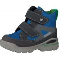 Ricosta Pepino Friso Grey Royal Blue Sympatex Waterproof Boots
