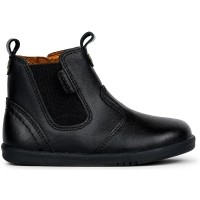 Bobux I-walk and Kid+ Jodhpur Black School Boots