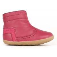 Bobux Step Up Bolt Rose Pink Boots