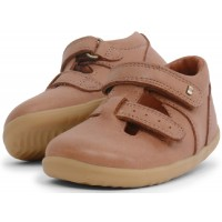 Bobux Step Up Jack & Jill Caramel Shoes