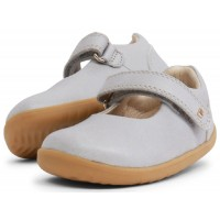 Bobux Step Up Delight Silver Shimmer shoes