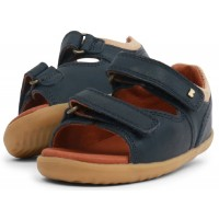 Bobux Step Up Driftwood Navy Sandals