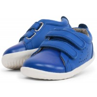 Bobux Step Up Grass Court Sapphire Blue Shoes