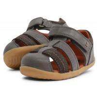 Bobux Step Up Roam Charcoal Grey Sandals