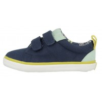 Gioseppo Smith Navy Blue Canvas Shoes