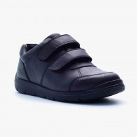 Term Galaxy Black School Shoes