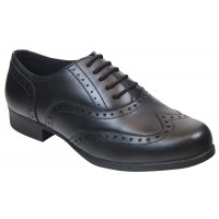 Term Bella Black School Shoes