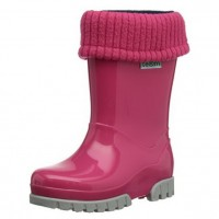 Toughees Term Lined Wellingtons Pink