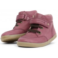 Bobux I-walk and Kid+ Timber Plum Boots