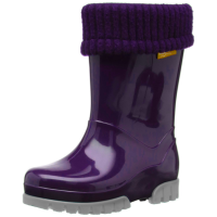 Toughees Term Lined Wellingtons Purple