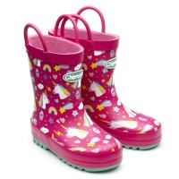 Chipmunks Unity Pink Wellingtons