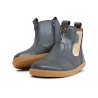 Bobux I-walk Jodhpur Charcoal Grey Shimmer Chelsea Boots