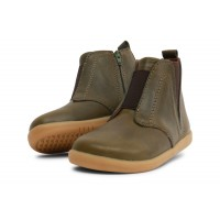 Bobux I-walk Signet Olive Green Boots