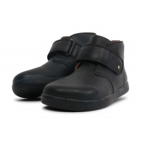 Bobux I-walk and Kid+ Desert Black School Boots