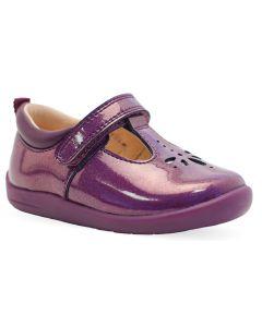 Start-Rite Puzzle Blackcurrant T-bar Shoes