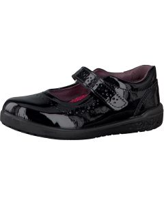 Ricosta Lillia Black Patent Leather School Shoes