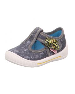 Superfit Bully 265-20 Grey Canvas Shoes