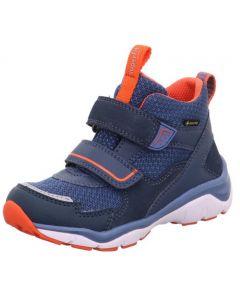 Superfit Sport 5 246-801 Blue Red Gore-Tex Waterproof Boots