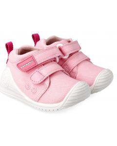 Biomecanics 202201-C Pink Canvas Shoes