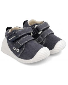 Biomecanics 202210-A Navy Blue Canvas Shoes