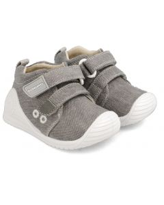 Biomecanics 202210-B Grey Canvas Shoes