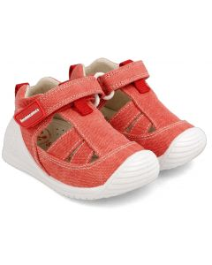 Biomecanics 202211-C Red Canvas Shoes