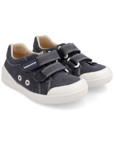 Biomecanics 202225-A Navy Canvas Shoes