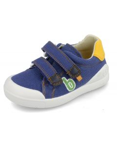 Biomecanics 202228-A Blue Canvas Shoes