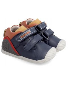 Biomecanics 211137 Navy Orange Trainer Boots