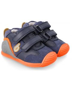 Biomecanics 212151-A Blue Orange Trainers